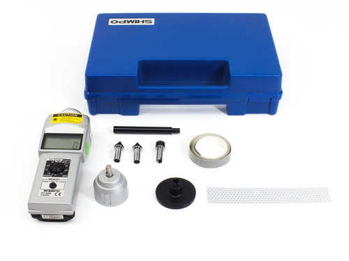 Shimpo DT-205L  LCD Laser Tachometer and Length Recorder Contact / Non-Contact