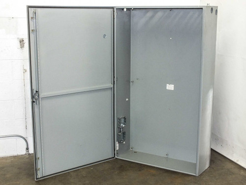 Hoffman C-S0603612 Type 4,12 Industrial Control Panel Enclosure Chassis