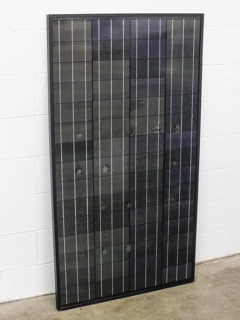 SoloPower SP4-100  100W Peak Power Glass Solar Panel - Damaged