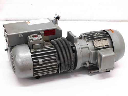Busch RC 0100  Single Stage Rotary Vane Vacuum Pump with 5 HP Motor