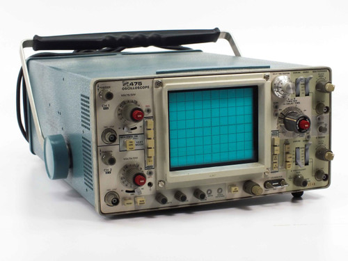 Tektronix 475  200MHz 2-Channel Oscilloscope AS-IS Bad TIME/DIV Dial