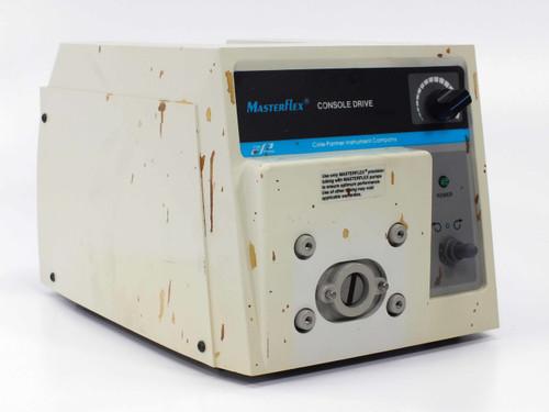 Cole-Parmer EW-07520-60 MasterFlex Peristaltic Pump L/S Precision 6-300 RPM