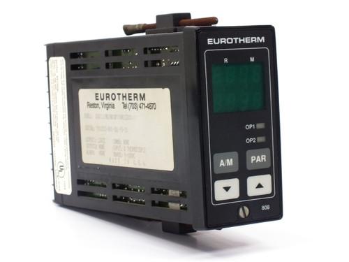 Eurotherm 808/L1/NO/NO/QP/(AKLC200)// 808 Digital Temperature Controller