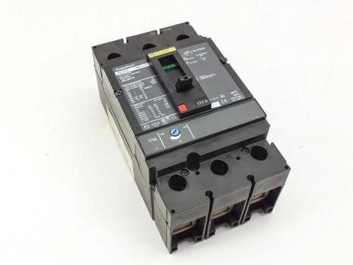 Square D JDL36175 750V 3 pole Circuit Breaker PowerPact JD 250