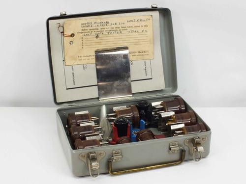 Vector Electronic MX-1258/U  US Navy Tube Socket Adapter Kit with Instruction Book
