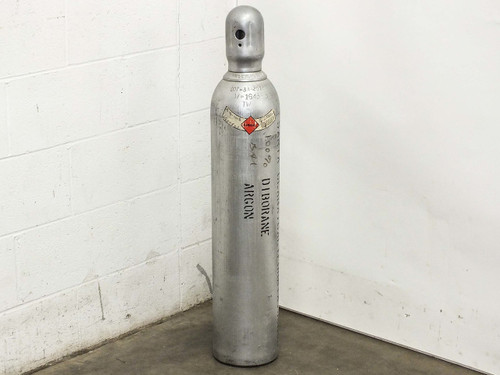 Precision Gas Products Inc  3.40% Silane Balance Argon Gas Tank