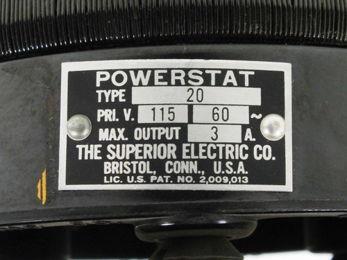 superior electric type 20 powerstat variable transformer pri 115v sec 0 130v 3a 3.40__50344.1490287440?c=2 superior electric powerstat wiring diagram air conditioning powerstat wiring diagram at fashall.co