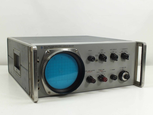 HP 851A  Spectrum Analyser Display Section - AS IS - No Display