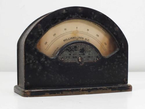 W.U. Tel. Co 1-A 264 Milliamperes D.C Meter