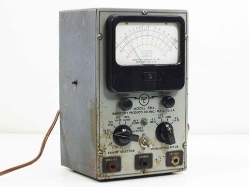 Radio City Products Model 664  VOM Multimeter / Multitester