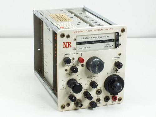 Nelson- Ross PSA-5111  Plugin Microwave Spectrum Analyzer