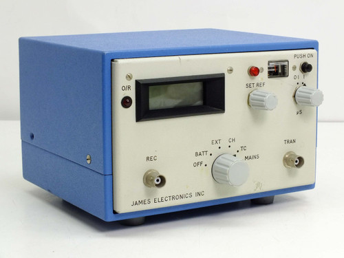 James Electronics C-4902 V-Meter Ultrasonic Pulse Propagation with Battery