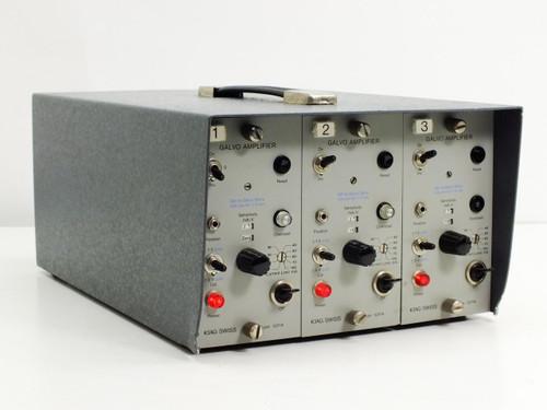 Kistler Instruments  5805  3 Channel Galvo Amplifier with 3 Kiag Swiss 5211A