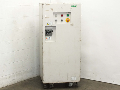 USHIO Electrical Enclosure with Mitsubishi A1SJHCPU System & Various Parts