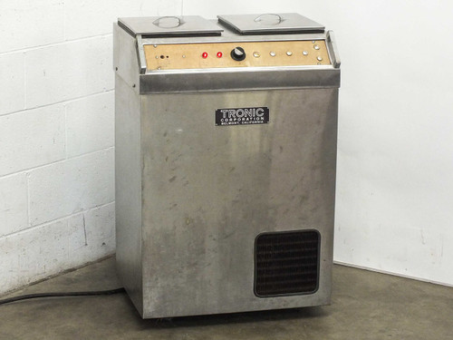 Tronic Corporation Ultrasonic Chiller and Heater Bath AS-IS / FOR PARTS (MK IV)