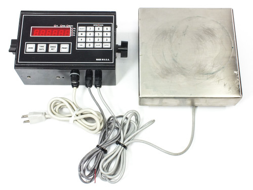 """Tara Systems TR-1 Digital Industrial Scale Indicator with 8"""" Scale 115 Volt"""