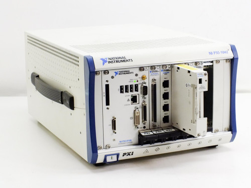 National Instruments PXI-1042  8-slot 3U PXI Chassis with Universal AC P/N 188079E-01