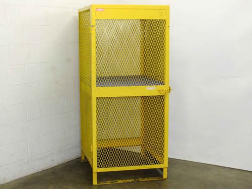 Jamco CA080 Vertical Propane Gas Cylinder Storage Cabinet