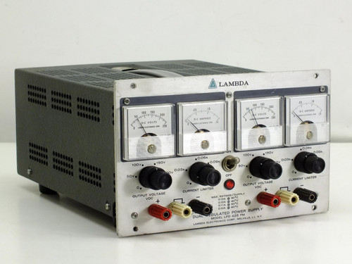 Lambda LPD 425 FM Dual Regulated 250 VDC 0.13 A Power Supply *AS-IS* Bad Meter
