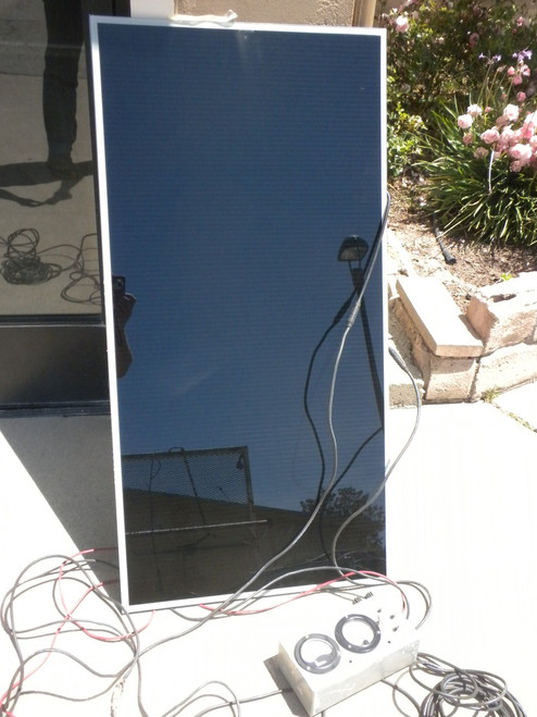 First Solar  FS-272  PV Solar Panel 72 Watt Thin Film CdTe Photovoltaic Cell