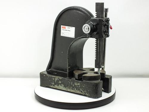 Dayton 4Z329A 2-Ton Arbor Press with Flat Punch