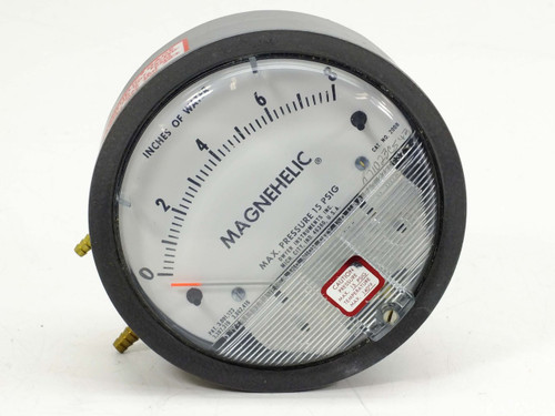 Dwyer  2008  Magnehelic Differential Pressure Gauge 0-8""