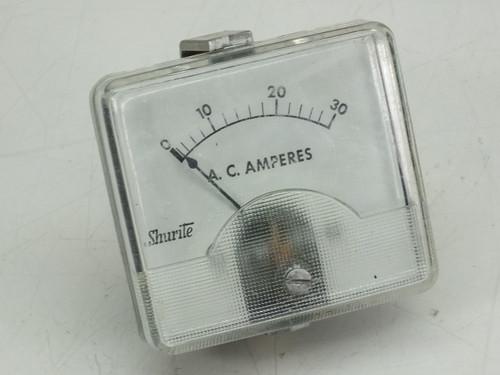 Shurite A.C. Amperes  Meter