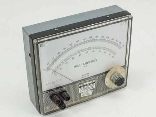 Weston Model 911  Milliamperes meter