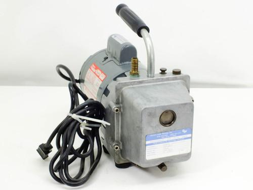 """Dayton 9K628 Rotary Vacuum Pump 1/2"""" Port 115 VAC 7 Amp 1/3 HP Motor"""