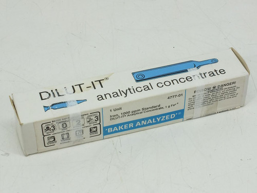 DILUT-IT 4777-01  Analytical Concentrate