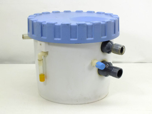 "Norpak White  3.5 Gals. Housing Filter 17"" L x 17"" W x 12"" H"