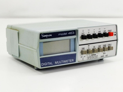 Simpson 463  Digital Multimeter