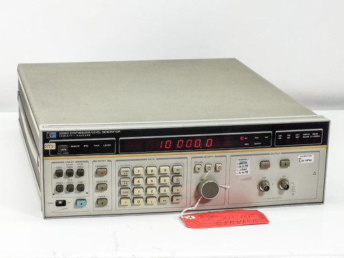 HP 3336C  Synthesizer/Level Generator AS-IS For Parts