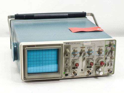 Tektronix 2235 100 MHz Oscilloscope -AS-IS / FOR PARTS Damaged Internals
