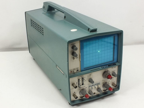 Tektronix T922 15MHz 2-Channel Portable Oscilloscope -AS-IS ~ No CH2