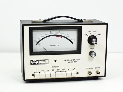 Newport Research 820  Laser power meter