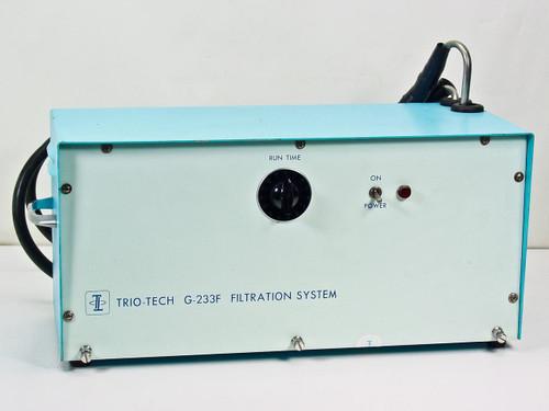 Trio-Tech Inc G-233F  Filtration System with Dayton 5K601B Motor