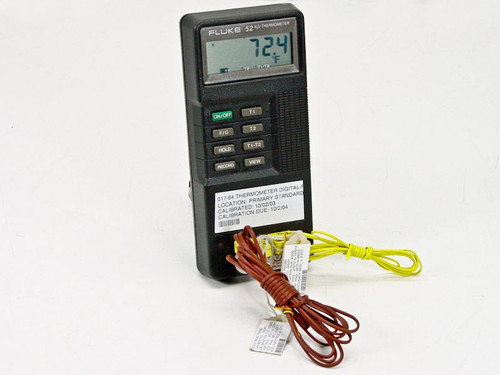 Fluke 52 K/J  Digital Thermometer