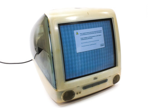 Apple M5521 iMac G3 / 400 Power Macintosh BLUE 10GB HDD 128MB RAM