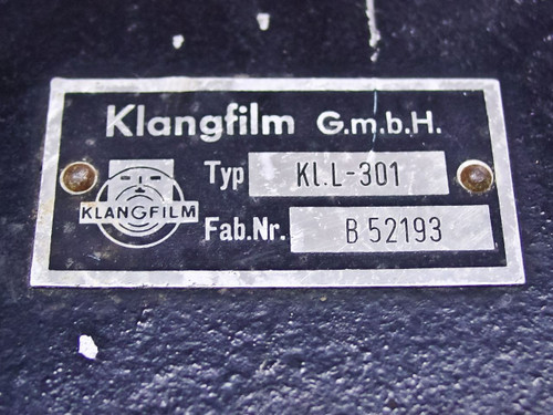 Klangfilm KLL301 / KLL402  Set of 4 Loudspeakers