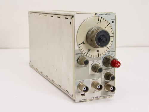 Tektronix  FG 503  Function Generator 1.0 Hz TO 3 MHz (USABLE TO 5 MHz)