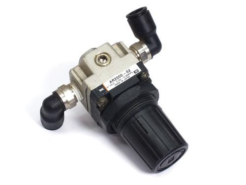 "SMC AR2000-02 Regulator Modular Type Set Pressure 0.05 - 0.85 MPa 1/4"" NPT"