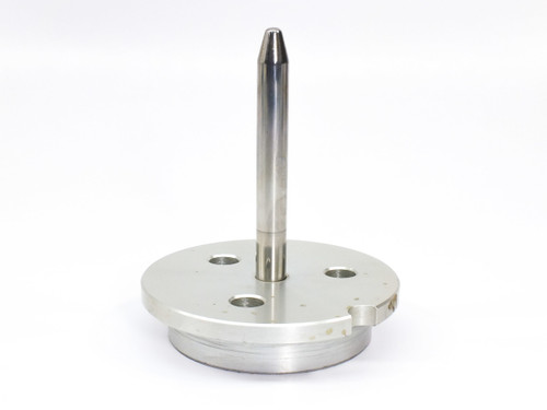 "Aluminum CD / DVD / Blu-ray 4"" (100 mm) Tall Spindle with Solid Base for Storage"