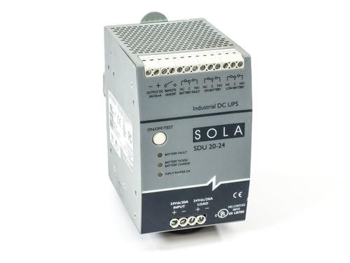SOLAHD SDU DIN Rail DC UPS Series SDU 20-24