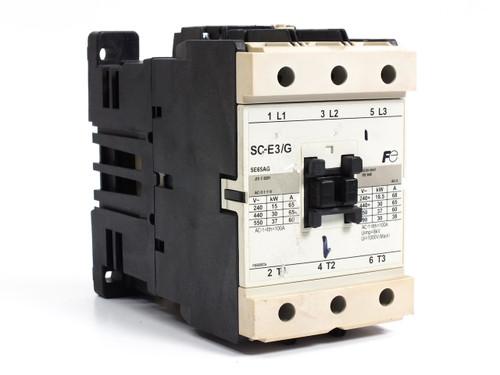 Fuji IEC CONTACTOR SC-E3/G