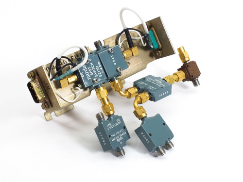 Narda 4316-2 12 - 18 GHz Power Divider with S213D 2 - 18 GHz SPST Switch