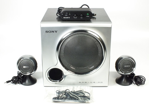 Sony SRS-D2100 2.1 Multimedia Speaker System +100W
