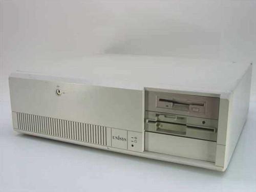 Unisys PW-820-COP 486SX/25 Desktop Computer 8 ISA VLB Bus