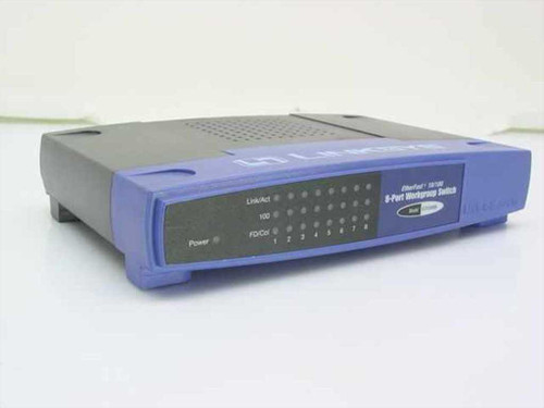 Linksys EtherFast 8-Port Workgroup Switch (EZXS88W)