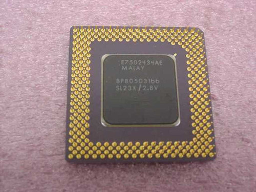 Intel 166Mhz Processor BP80503166 (SL23X)